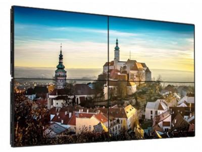 Тонкошовная видеостена 2x2 на базе LG 49 дюймов 49SH7DB