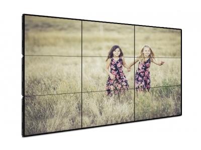 Бесшовная видеостена 3x3 на базе SAMSUNG 55 дюймов UD55Е-P